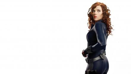 Widow the avengers natasha romanoff white background wallpaper