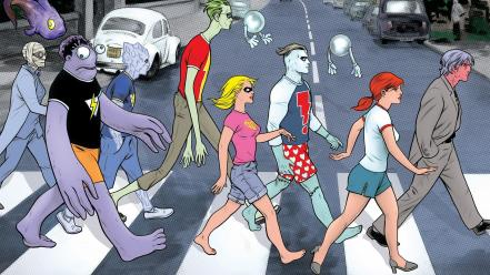 Abbey road comics image madman wallpaper