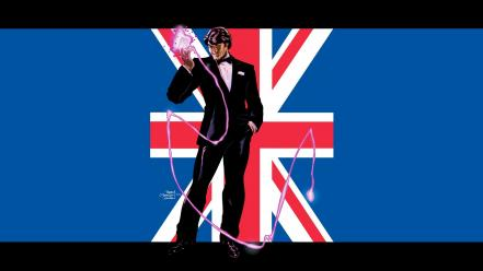 Comics flags gambit united kingdom wallpaper