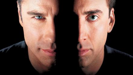 Movies face/off nicolas cage john travolta wallpaper