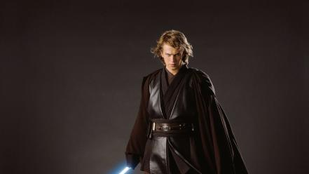 Star wars lightsabers film anakin skywalker Wallpaper