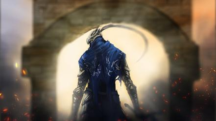 Video games armor dark souls artorias the abysswalker wallpaper
