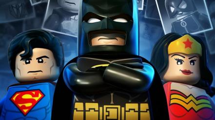 Dc comics heroes legos game lego 2 Wallpaper
