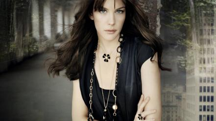 Liv tyler look Wallpaper