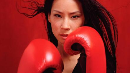Lucy liu boxing wallpaper