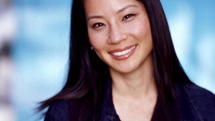 Lucy liu smile wallpaper