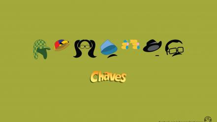 Minimalistic chaves wallpaper