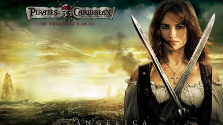 Penelope Cruz In Pirates Of The Caribbean 4 wallpaper