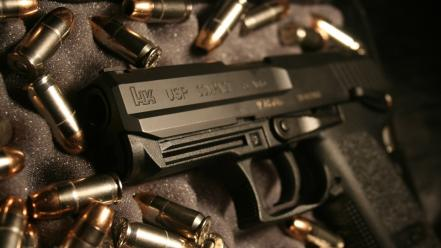 Pistols weapons ammunition heckler and koch usp wallpaper