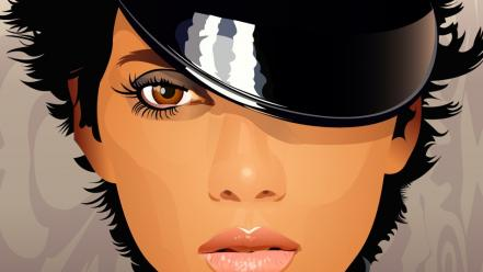 Vector halle berry wallpaper