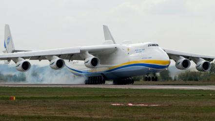 Aircraft antonov an-225 Wallpaper
