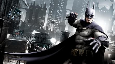 Batman video games arkham city wallpaper