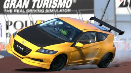 Cars honda cr-z gran turismo 5 ps3 wallpaper
