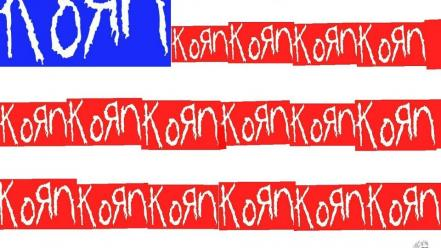 Korn flags Wallpaper