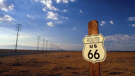 Landscapes route 66 wallpaper