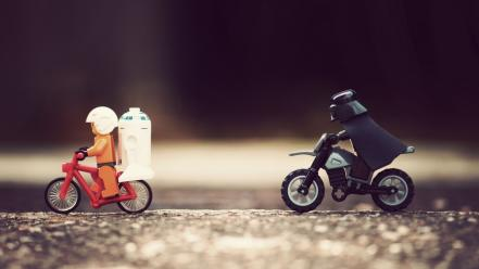 Star wars bike funny wallpaper