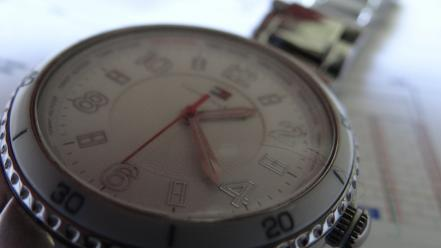Time machine tommy hilfiger macro watch green wallpaper