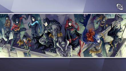 Batman robin comics batgirl batwoman Wallpaper