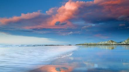 Beaches landscapes nature smooth wallpaper