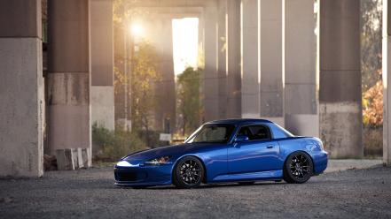 Blue cars tuning honda s2000 wallpaper