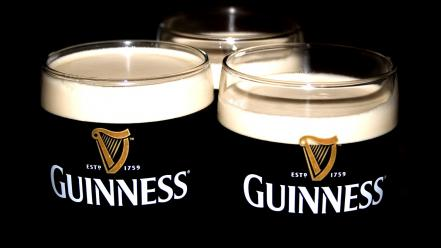 Guinness alcohol beers glasses wallpaper