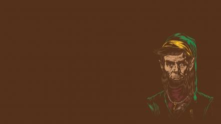 Link abraham lincoln funny artwork wallpaper