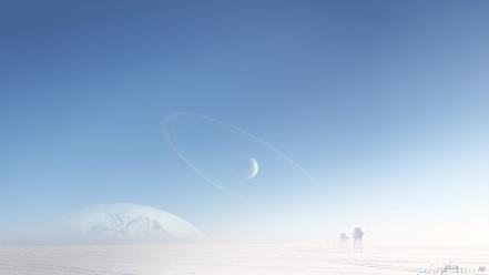 Star wars cgi hoth digital art Wallpaper