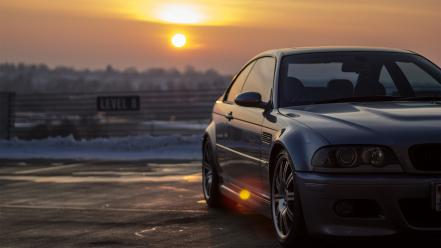 Sunset Cars Bmw E46 M3 Wallpaper 33024