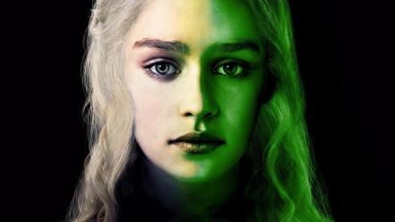 Tv series daenerys targaryen faces emily clarke wallpaper
