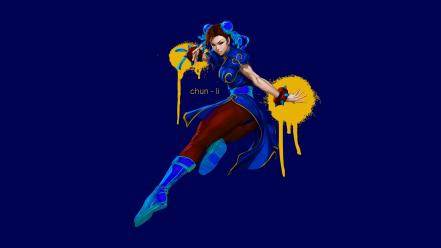 Video games street fighter chun-li Wallpaper