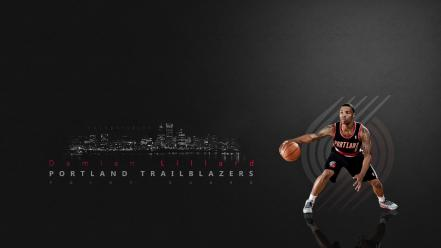 Blazers trailblazers damian lillard rookie wallpaper