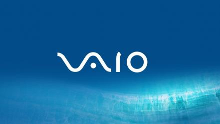 Blue sony vaio wallpaper