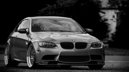 Bmw cars monochrome m3 wallpaper