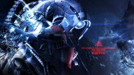 Mass effect geth wallpaper