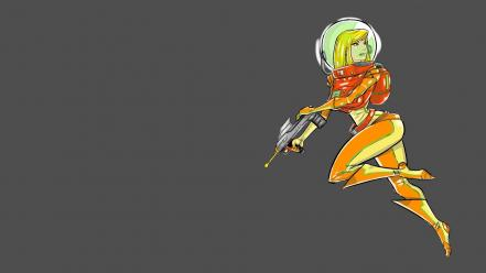 Metroid video games samus aran wallpaper