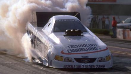 Nhra ford mustang dragster 2001 Wallpaper