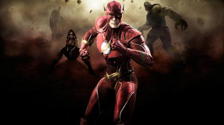 Superheroes flash comic hero Wallpaper