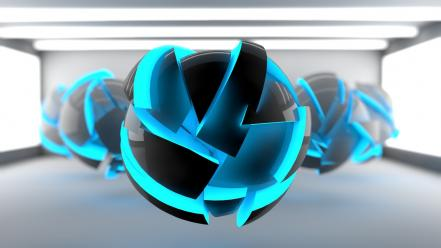3d cinema4d pokeball abstract digital art wallpaper