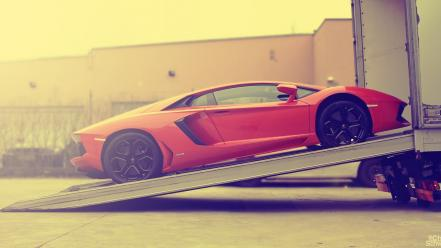 Cars lambo races aventador wallpaper