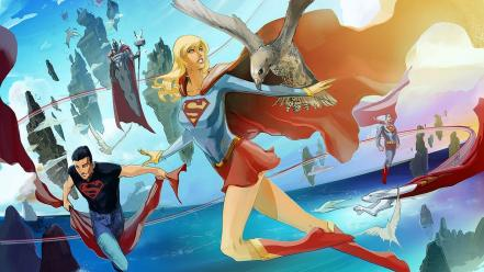 Comics supergirl wallpaper