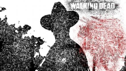Comics the walking dead wallpaper