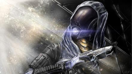 Nar rayya vas normandy quarian video games wallpaper