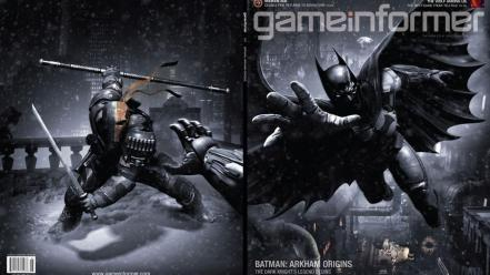 Batman rain deathstroke Wallpaper