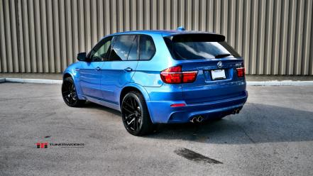 Blue cars bmw x5 wallpaper