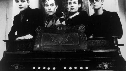 Grayscale bauhaus (band) post-punk gothic rock wallpaper