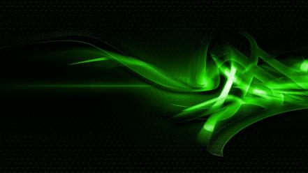 Green abstract design wallpaper