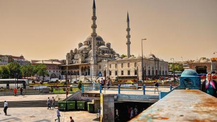Istanbul turkey cityscapes mosques wallpaper