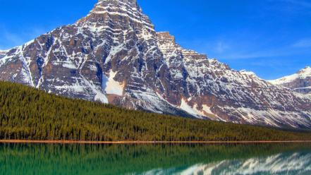 Mountains landscapes nature lakes mount wallpaper