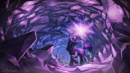 Ponies twilight sparkle pony: friendship is crystal wallpaper