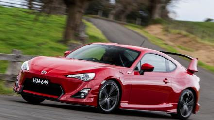 Vehicles tuning red gt86 gts trd aero wallpaper